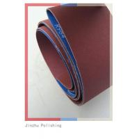 China Low Noise Custom Sanding Belts , Abrasive Cloth Belt With Small Dust wholesale