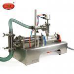 China 50-5000ml Single Head Liquid Softdrink Pneumatic Filling Machine table wholesale