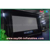 China 6 X 3.5m Pvc / Oxford Cloth Protable  Film Inflatable Movie Screen for Rental wholesale