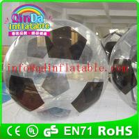 China QinDa Inflatable zorb ball for sale water zorb ball roll inside inflatable ball on sale