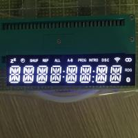 China 8 Digit 14 Segment Led Display Common Cathode Ultra Bright White Emitting Color wholesale