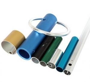 China Powder Coated Anodized Aluminum Extruded Tubing / Aluminum Round Tubing With CNC Machining wholesale