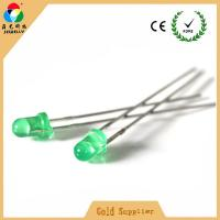 Buy cheap Hot sales light source led light high green color 3mm side emitting led diode from wholesalers