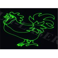 150MW SD Card Single Green Laser Projector For Christmas And Outdoor Laser System