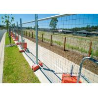 China Australia Standard Temporary Construction Fence Galvanized Welded Wire Mesh For Festivals wholesale