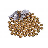 Hotfix Resin Rhinestones Flatback , Shiny Epoxy Resin Rhinestone Beads for sale