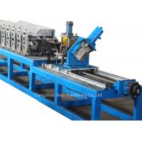 China PLC Automatic Ceiling Channel Roll Forming Machine For Making C U L T Ceiling Grid on sale