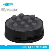 Functional Home Multi Port USB Charger Rohs PC ABS Silicone Material