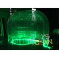 China Colorful Clear Transparent LED Advertising Inflatables Photo Booth Tent wholesale