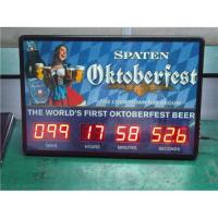 China LED digital countdown clock on sale