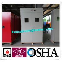 China Flammable Industrial Safety Cabinet For Cylinder Storage , Cylinder Safety Storage Cabinet wholesale