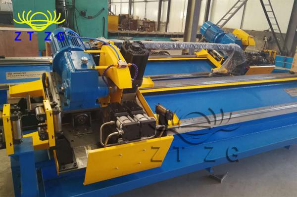 Quality 0-80m/min Track Cutting Flying Cut Off Saw 50Hz For Steel Tube Mill for sale