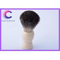 China Best shaving brush for men with faux ivory handle , black badger knots on sale