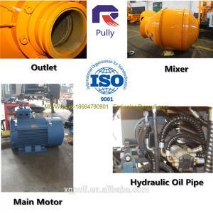 China 15m3/h diesel engine concrete mixer pump, concrete mixer with pump, professional electric mobile concrete mixer pump wholesale