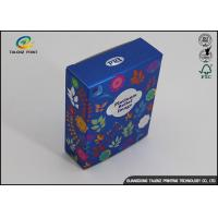 China Elegant Thick Cardstock Boxes For Cosmetic Tools / Paper Cosmetic Box wholesale