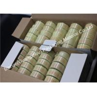 China Light Yellow Liner Material Fiber Packing Tape High Temperature Resistant wholesale