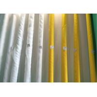 China Polyester Bolting Screen Printing Mesh Low Elongation 490 Mesh For Ceramic Printing on sale