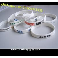 China factory cheap custom different kinds of silicon wristband/bracelets from china wholesale
