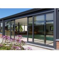 China Hot Sale High Quality Aluminum Door With Glazed Glass For House Building From China Supplier on sale