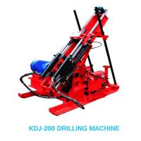 China KDJ-200 Hydraulic Trunnel Drilling Rig In Treatment Disaster wholesale
