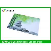 China Full Color Print Beautiful Table Mats , Bright Coloured Placemats HKP0110-21 wholesale