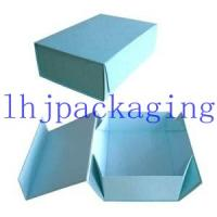 China luxury paper folding box wholesale