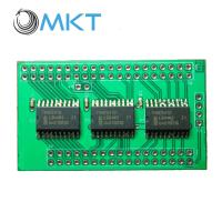 China Chip programed LED module touch screen controller pcb assembly board on sale
