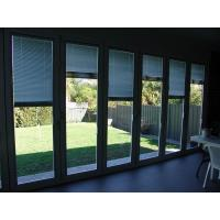 China Commercial Folding Glass Exterior Doors / Aluminium Folding Patio Doors wholesale