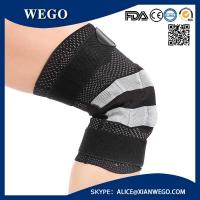 China Knee Compression Brace Leg Sleeve Joint Injury relief Basketball Running wholesale