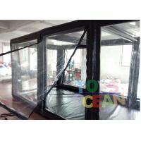 China Car Motorcycle Capsule Transparent Inflatable Cover Garage Dust Proof wholesale