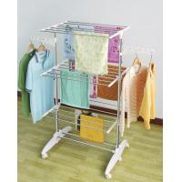 China Engineering Plastic Outdoor Clothes Drying Rack with Wheel NG-300W2 wholesale