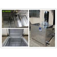 China 360L 28KHZ Moulds Automatic Ultrasonic Cleaner Power Lift With Agitation wholesale