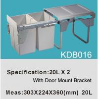 Kitchen Can|Trash Can|Dust Bin|Waste Bin|Cabinet Bin KDB016