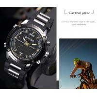 Quality Wholesale Sbao Men Fashion Classical  Joker Waterproof  Dual Time Outdoor Sport  Alarm Chronograph  Watches  S-9008 for sale