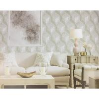 Quality Northern Europe Style Embossed Surface Regular Pattern Wallpaper For Sofa for sale