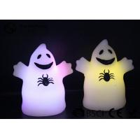 China Cute Ghost Shaped Halloween Led Candles Paraffin Wax Material HL-009 wholesale