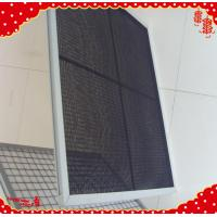 China 595x295x21mm cleanroom pleated panel washable Nylon mesh air filters wholesale
