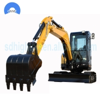 Quality 2019 Good quality new type small digger garden excavator for sale