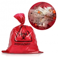 Non Poisonous Biohazard Autoclavable Polypropylene Bags for Medical Waste