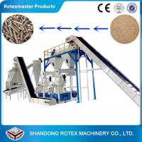 Quality Vertical Ring Die Wood Pellet Production Line for Making Biomass Pellet for sale