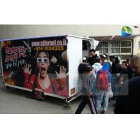 China Mobile 7D Trailer Movie Theater 6 People Box Customize 7D Motion Cinema wholesale