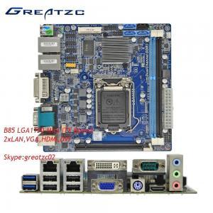 China 1150 Mini ITX Motherboard / Intel B85 Chipset Motherboar/ Dual LAN Mainboard wholesale