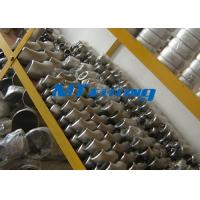 China ASME / ANSI B16.9 SAF2205 / 2507 400LB Flanges Pipe Fittings , Duplex Steel Cap Pipe Fitting wholesale