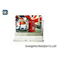 China PET Fridge Lenticular Magnet Souvenir 4 Color 3D UV Printing 0.45mm Thickness wholesale
