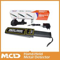 Quality Stable Performance Handheld Metal Detector With Sound / Vibration / Light Alarm for sale