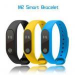 IP67 Waterproof Heart Rate Monitor Fitness Tracker Bluetooth Band M2 Smart Bracelet Wristband