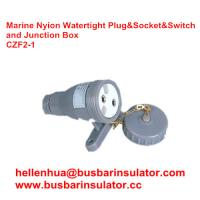 Wholesale marine electrical three-pin male   CZF2-1 waterproof marine socket and switch from china suppliers