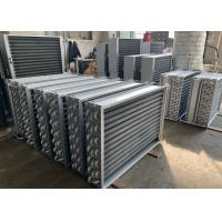 China High Efficiency Finned Tube Heat Exchanger , Stainless Steel Heat Exchanger For Dryer wholesale