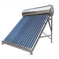 China Discount stainless steel solar hot water wholesale