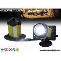 China OEM/ODM LED Mining Cap Lights With SAMSUNG Lithium Battery , 3W 800Ah Light Power wholesale